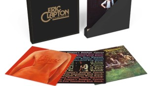 ERIC CLAPTON THE LIVE ALBUM COLLECTION 1970-1980 4 ALBUM, 6 PIECE VINYL-ONLY BOX SET AVAILABLE MARCH 25th, 2016 This spring sees the release of all of Eric Clapton's live albums from his recording period with Polydor/RSO,1970-1980.  Each album here has been newly remastered and pressed on heavyweight vinyl. Capturing live concerts in New York, California, Rhode Island, Tokyo and London, the collection includes Eric Clapton's 1973 concert at London's Rainbow with an all-star line-up featuring Pete Townshend, Steve Winwood, Ronnie Wood and Jim Capaldi. (PRNewsFoto/Universal Music Enterprises)